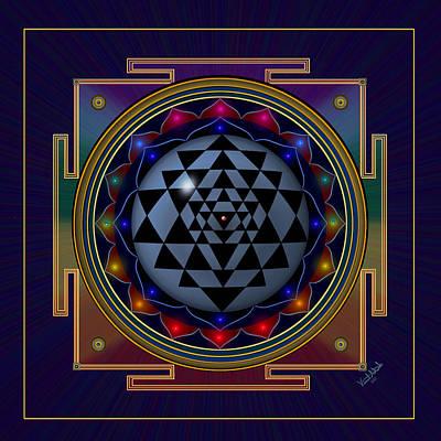 State Love Nancy Ingersoll - Shri Yantra by Vincent Autenrieb