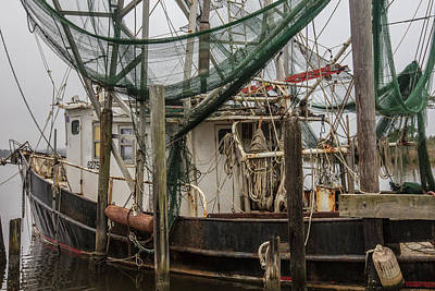 Photograph - Shrimp Boat Alabama  by John McGraw