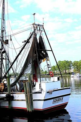 Photograph - Shrimp Boat by Annette Allman