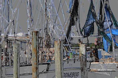 Shrimp Boat At Mayport Art Print