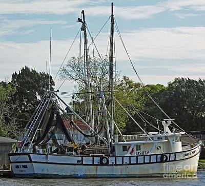 Photograph - Shrimp Boat At St Marys by D Hackett