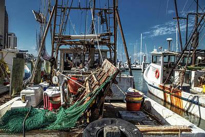 Photograph - Shrimp Boat Chaos by Lynn Sprowl