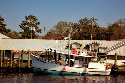 Photograph - Shrimp Boat by L O C