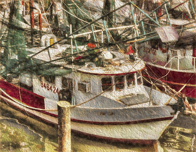 Photograph - Shrimp Boat Lucky Lady by Cathy Jourdan