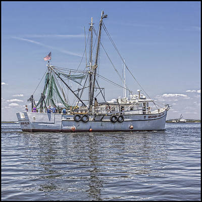Photograph - Shrimp Boat by Paula Porterfield-Izzo