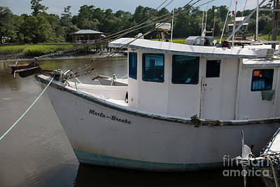 Photograph - Shrimp Boat Pilot House by Dale Powell