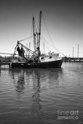 Photograph - Shrimp Boat by Ron Sadlier