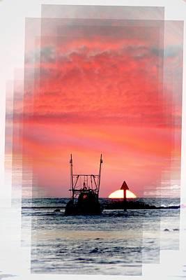 Photograph - Shrimp Boat Sunset by Sheri McLeroy