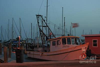 Photograph - Shrimp Boat by Tony Baca