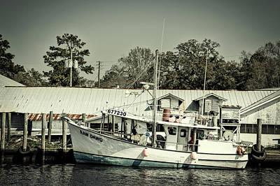 Photograph - Shrimp Boats - Bayou La Batre Alabama by L O C