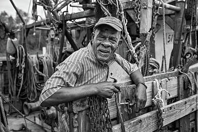 Photograph - Shrimper by Eilish Palmer