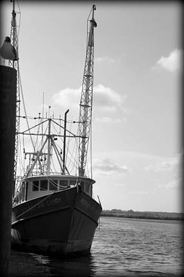 Photograph - Shrimper by Laurie Perry