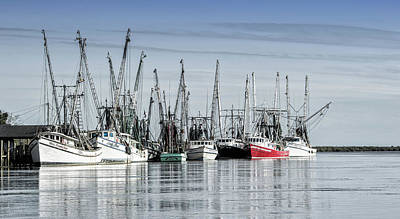 Photograph - Shrimper's Day Is Done by Nancy Kirkpatrick