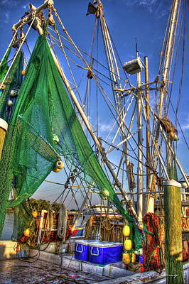 Photograph - Shrimpgear Shrimpin Tools Of The Trade Art by Reid Callaway