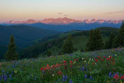Gore Range Photograph - Shrine Mountain by Aaron Spong