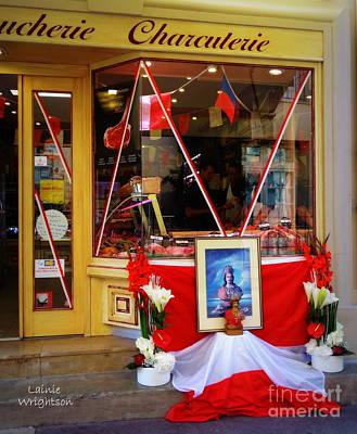 Shrine To St Tropez Art Print
