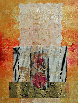 Painting - Shroud 2 Collage by Kate Word