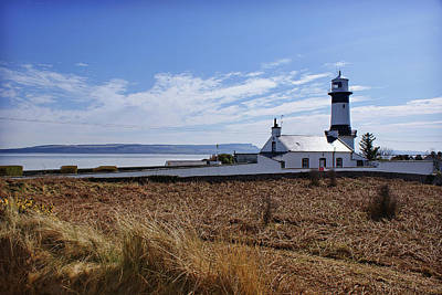 Photograph - Shrove Lighthouse, Greencastle, Co. Donegal by Colin Clarke