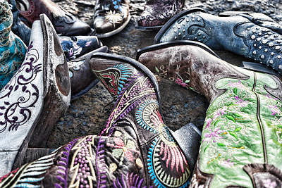 Photograph - Shuffle Boot by Sharon Popek