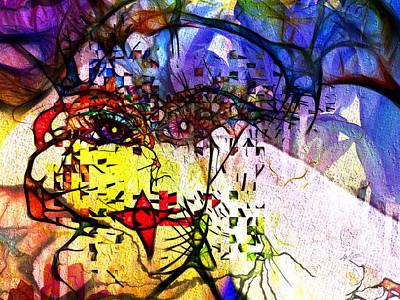 Digital Art - Shuffled Dimensions by Kiki Art
