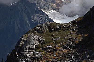 Photograph - Shuksan Glacier by Lynn Bawden