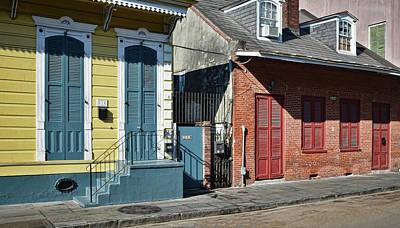 Photograph - Shuttered Morning Light - New Orleans by Greg Jackson
