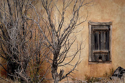 Photograph - Shuttered Window by Nadalyn Larsen