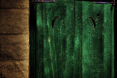 Photograph - Shuttered Window by Roger Passman