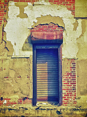 Photograph - Shuttered Window by Tony Grider