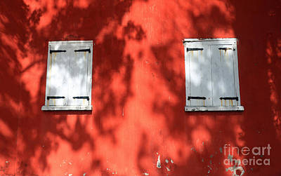 Photograph - Shutters And Shadows by Mary Haber