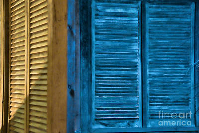 Photograph - Shutters At Night by David Arment