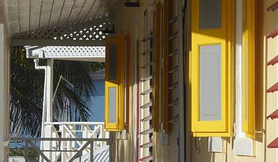 Photograph - Shutters In The Sun by Margaret Brooks