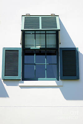 Photograph - Shutters by Karen Adams