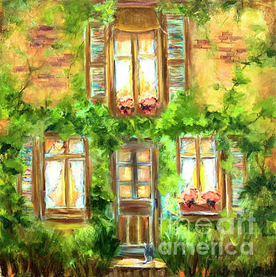 Painting - Shutters by Pati Pelz
