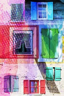 Shutters Art Print by Jacky Gerritsen