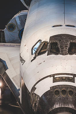 Photograph - Shuttle Close Up by David Collins