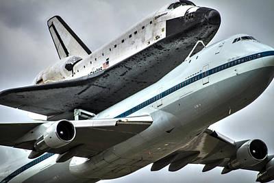 Shuttle Endeavour Art Print