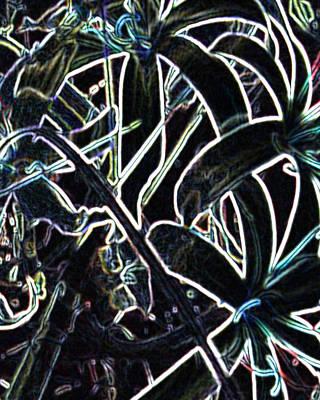 Contemporary Abstract Drawing - Shy by Amanda Schambon