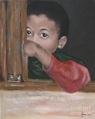 Painting - Shy by Annemeet Hasidi- van der Leij