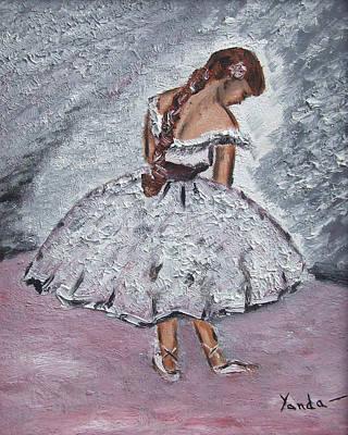 Painting - Shy Balleriba by Katt Yanda