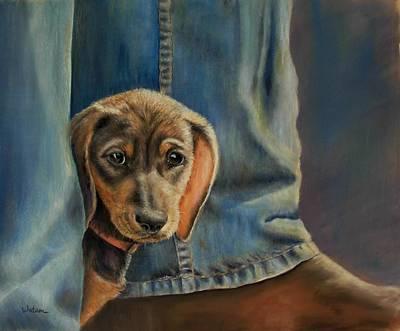 Painting - Shy Boy by Ceci Watson