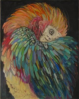 Painting - Shy by GALA Koleva