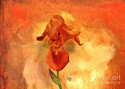 Shy Iris Art Print