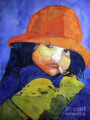Painting - Shy Senorita by Sandy McIntire