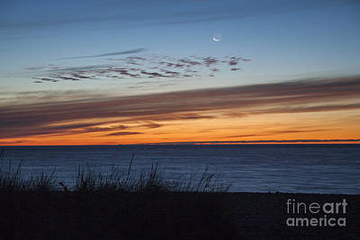 Photograph - Siasconset Beach Nantucket Blue Hour by Kimberly Nyce