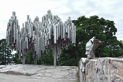 Sibelius Monument Art Print