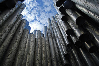 Photograph - Sibelius Monument  by Harvey Barrison