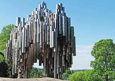 Photograph - Sibelius-monumentti by Harvey Barrison