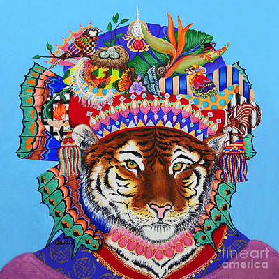 Painting - Siberian Empress - Tiger by KJ Swan