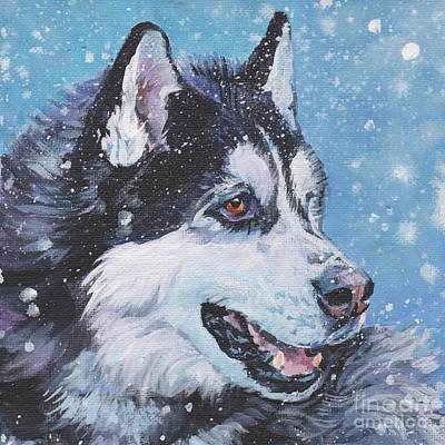 Painting - Siberian Husky by Lee Ann Shepard